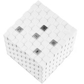 Tayogo Magic Cube Portable Speaker White