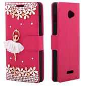 diamond case rose ballet girl для Coolpad 8730L
