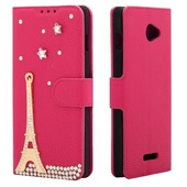 diamond case rose tower and stars для Coolpad 8730L